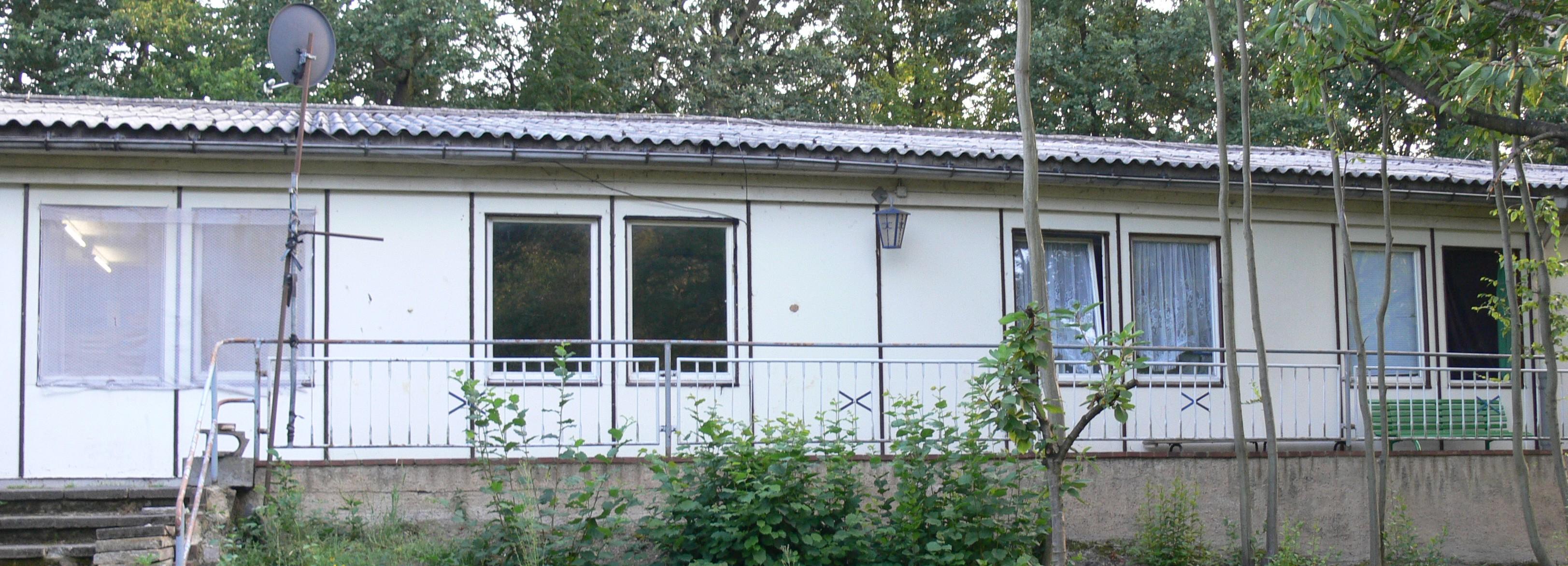 Asylbewerberheim Bahren bei Grimma